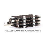 Cellule J100SC compatible pour Justchlor® J100 autonettoyante - 7 grilles 110 x 65 mm