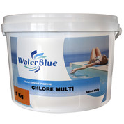 Chlore multifonctions waterblue galets 500g - 10kg