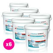 Chlorilong Ultimate7 galet 300 g Bayrol 28.8 kg - 6 seaux x 4.8 kg