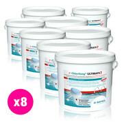 Chlorilong Ultimate7 galet 300 g Bayrol 38.4 kg - 8 seaux x 4,8 kg