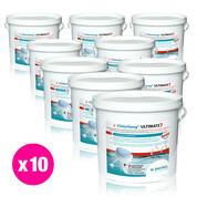 Chlorilong Ultimate7 galet 300g Bayrol 48 kg - 10 seaux x 4.8 kg