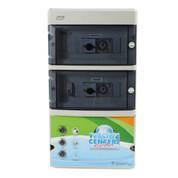 Coffret filtration 2 projecteurs 300 va avec balai asservi
