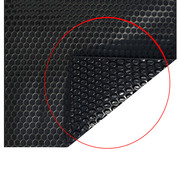 Couverture à bulles noir 400 eco le m²