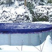 Couverture hivernage piscine hors sol Ø7,6m pour bassin Ø7m