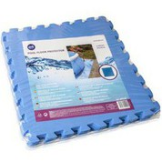 Dalle de protection GRE 50 x 50 cm Bleu