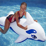 Dauphin gonflable pour piscine