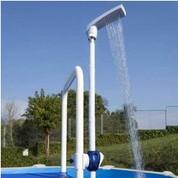 Douche économique à clips Gré pour échelle piscine hors sol