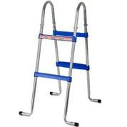 Echelle 2x2 marches pour piscine hors-sol GRE H90 cm