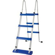 Echelle sécurité 2x3 marches pour piscine hors-sol Gré H122 cm