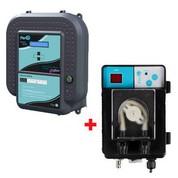 Pack Électrolyseur Perle Série Black 150 m³ + Régulateur pH Perle