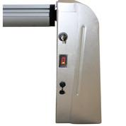Enrouleur à batterie pour bâche à bulles - largeur 7 m maximum