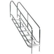 Escalier sécurité 970 mm 5 marches