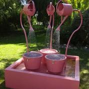 Fontaine Léopold XXL rose pâle
