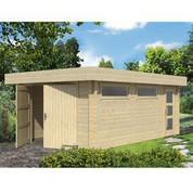 Garage en bois d'épicéa Canberra 44 A
