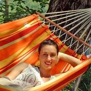 Hamac brésilien à baguettes Brasilia Mango