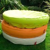 Ile gonflable Orange