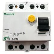 Interrupteur différentiel AC 30mA 40A tétra polaire