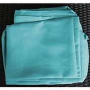 Set complet de housse bleu pour salon Biham