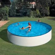 Kit piscine hors-sol acier ronde Lanzarote Ø350 x H90 cm