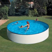 Kit piscine hors-sol acier ronde Lanzarote Ø450 x H90 cm