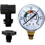 Kit complet manomètre pour filtre piscine Polyclair et platine de filtration Platiclair Plus 6 m³/h
