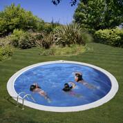 Kit piscine enterrée Sumatra acier Ø420 x H120 cm