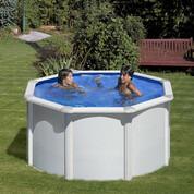 Kit piscine hors-sol acier Fidji ronde Ø240x120 cm