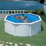 Kit piscine hors-sol acier Fidji ronde Ø350x120 cm