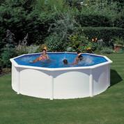 Kit piscine hors-sol acier Fidji ronde Ø460x120 cm