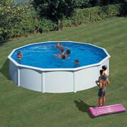 Kit piscine hors-sol acier Fidji ronde Ø550x120 cm