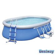 Piscine autoportante ovale Fast Set Pools L.549 x l.366 x H.122