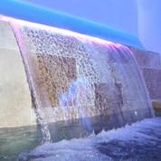 Lame d'eau 1208 x 85 mm avec LED 16 W
