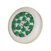 Lampe piscine avec 15 super led verte de 1w