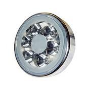 Lampe piscine inox avec 6 Super LED de 1W Blanc