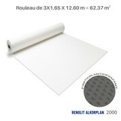 Liner antidérapant blanc Renolit alkorplan 2000 - 3 x 20.79 m soit 62.37 m²