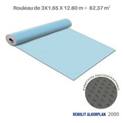 Liner antidérapant bleu clair Renolit alkorplan 2000 - 3 x 20.79 m soit 62.37 m²