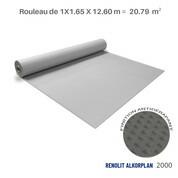 Liner antidérapant gris clair Renolit alkorplan 2000 - 1.65 x 12.60 m soit 20.79 m²
