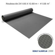 Liner antidérapant gris foncé Renolit alkorplan 2000 - 2 x 20.79 m soit 41.58 m²