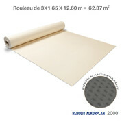 Liner antidérapant sable Renolit alkorplan 2000 - 3 x 20.79 m soit 62.37 m²
