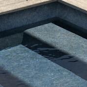 Liner armé Granit Bleu Aquasense 5 x 33 m² soit 165 m²