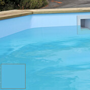 Liner pour piscine bois Cerland 530 x 133 cm bleu 75/100