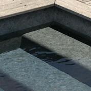 Liner pvc arme aquasense granit gris 33x4 soit 132m²