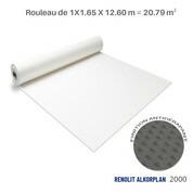 Liner antidérapant blanc Renolit alkorplan 2000 - 1.65 x 12.60 m soit 20.79 m²