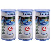 Cartouche de filtration Intex A - lot de 3