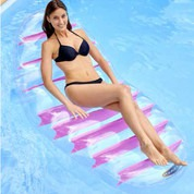 Lounger flottant transparent