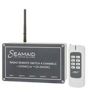 Module radio 4 canaux avec télécommande