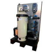 Palette filtrante avec electrolyse et regul ph et by-pass