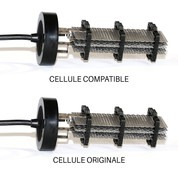 Cellule compatible 68X630 pour Paramount® Culot Noir - 7 grilles 60 x 200 mm