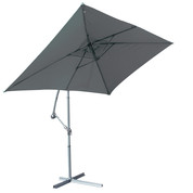 Parasol déporté Super King - 300 x 200 cm - Anthracite