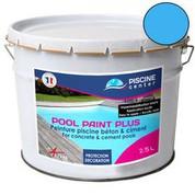 Peinture piscine Pool Paint Plus bleu 2,5 L